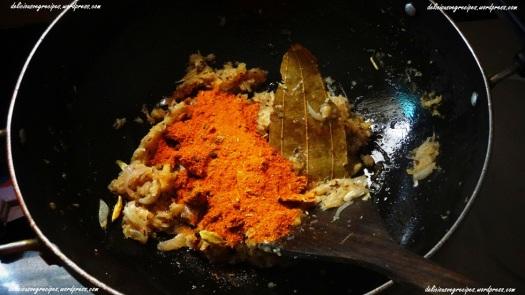 Add dry masalas