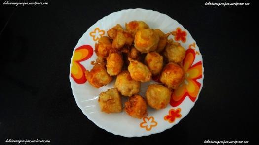 Fried paneer Pieces