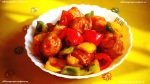 Chilli Paneer served hot
