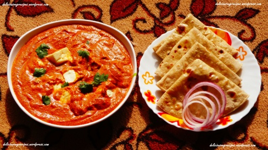 Paneer Makhani with Phulka