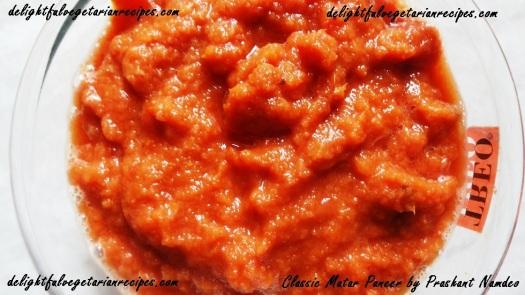 Tomato Onion Paste
