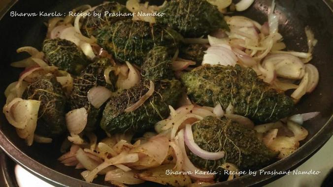 Bharwa Karela : Recipe by Prashant Namdeo